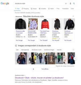 acheter doudoune internet